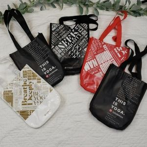 Lot of 5 Lululemon Special Reusable Bags Small